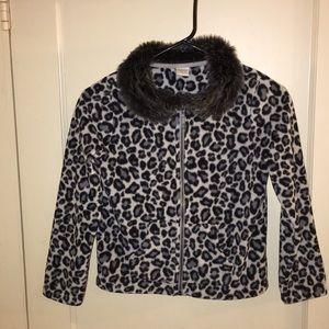 Gymboree fleece girl jacket size (7-8)